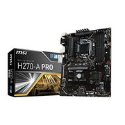 MSI H270-A PRO Mining Motherboard Crytocurrency BTC Intel H270/ ATX Motherboardwith 6 PCIe Slots and M.2